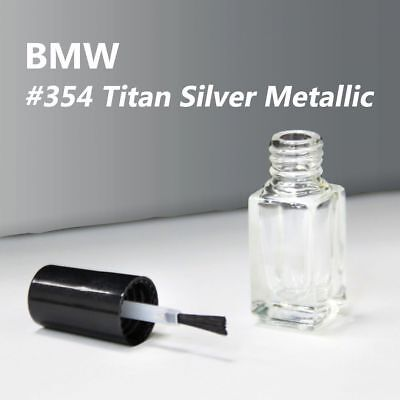 Ship Today!Touch Up Paint Color Code #354 Titan Silver Metallic For BMW