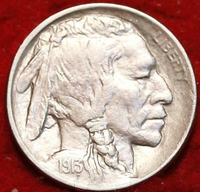 1913 Type II Philadelphia Mint  Buffalo Nickel
