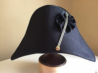 WAR OF 1812 Napoleonic Officer Fore   Aft Style Hat USA Made ... 2179534e9b8