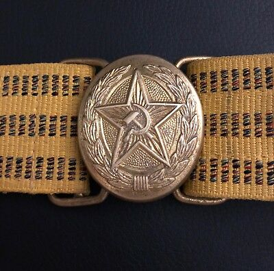 Vintage/old Ussr/Russia army/officer parade belt