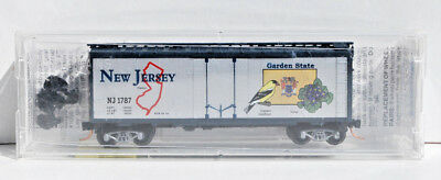 MTL N Scale New Jersey State Car. Road # NJ 1787. New.