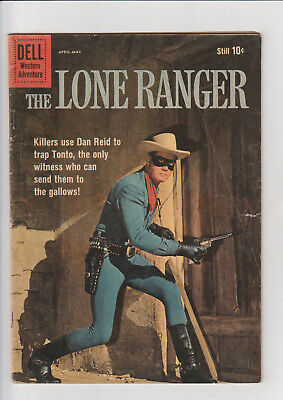 The Lone Ranger #133 (Apr-May 1960, Dell) Western photo cover G