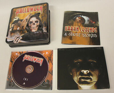 Halloween Scary Movie Score CDs & Movie. Collector Tin