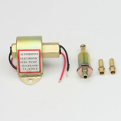 NEW 12V Electric Universal Fuel Pump With Diesel Petrol Low Pressure 4-6 PSI