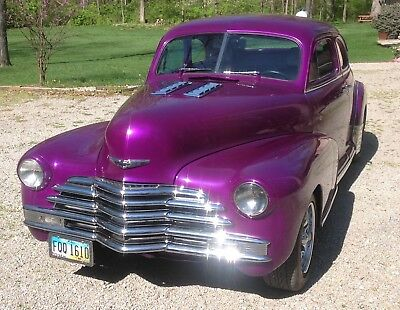 1948 Chevrolet Classic  Chevrolet Coupe Chevy Business Coupe Complete Frame Off Restoration 9 year build