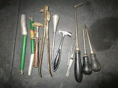 Assorted Lot of 11 Vintage Surgical Veterinary Instruments Tools
