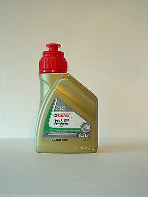 Castrol Fork Oil Synthetic SAE 5W Fork Oil Synthetic 500ml (€ 15,00 / Litre)