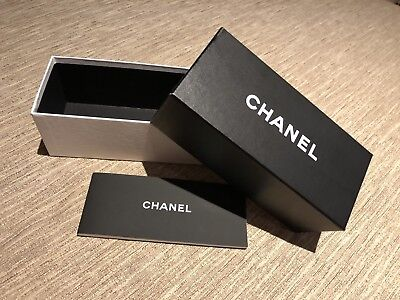 Chanel Glasses/Sunglasses Empty Gift Box & Booklet - Mint Condition