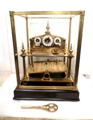 Much Larger Terrific William Congreve Rolling Ball Clock-BALL ALWAYS MOVING