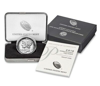 American Eagle 2018 One Ounce Palladium Proof Coin IN HAND - SHIPs NEXT DAY