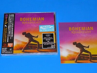 2018 JAPAN SHM CD QUEEN SOUNDTRACK BOHEMIAN RHAPSODY w/PROMO STICKER