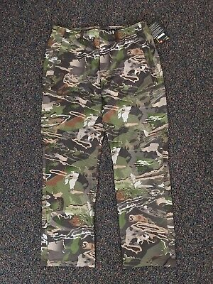 31e268c82cef6 NEW Under Armour Ridge Reaper ArmourVent Pants Forest Camo 36/32 Style  #1289637