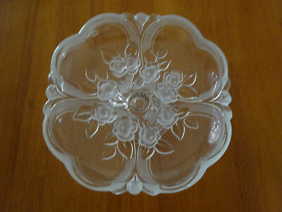 Clear Glass Candy Dish On A Footed Stand