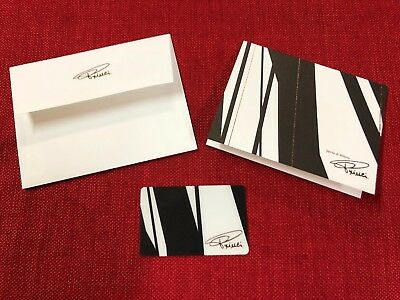 New Starbucks 2018 Princi Gift Card With Holder And Envelope Limited Seattle