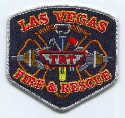 Las Vegas Fire And Rescue Department Technical Rescue Team Trt Patch Nevada Nv