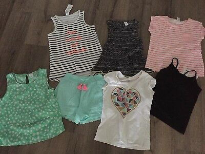 Girls Tops Plus Shorts - Size 10 - All Exc Condition 2 BNWT