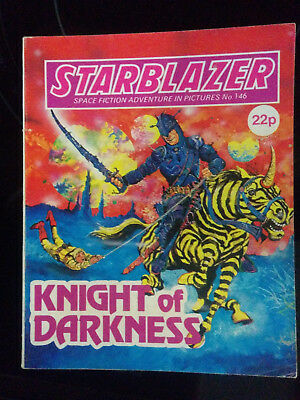 "Starblazer #146 ""KNIGHT OF DARKNESS"" published by DC Thomson"