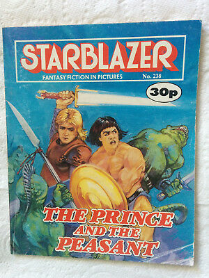 "Starblazer #238  ""THE PRINCE AND THE PEASANT"" published by DC Thomson"