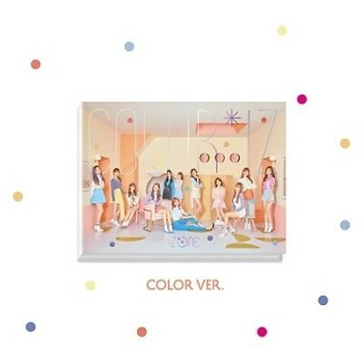 IzOne-[Color*Iz]1st Mini Album Color CD+PhotoBook+Folding Cover+Card+Gift K-POP