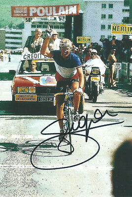 LAURENT FIGNON, Original Hand-Signed Cycling Autograph, Card 10x15cm