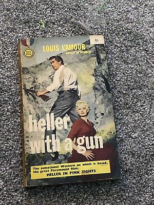 Louis L'amour - Heller With A Gun. 1960 Gold Medal Paperback