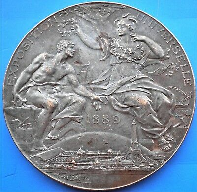 MEDAILLE EXPOSITION UNIVERSELLE 1889 L. BOTTÉE 63 mm french medal