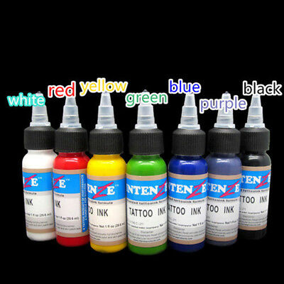 30Ml/bottle Professional Tattoo Ink Monochrome Practice Set Tattoo Pigment Pop