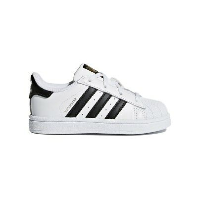 best service 457b7 efb4d Adidas SUPERSTAR FOUNDATION KID BB9076 Bianco Nero mod. BB9076