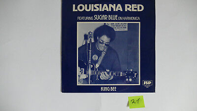 """Nr. 21 Lp, Louisiana Red with Sugar Blue """" King bee"""""""