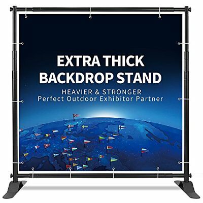 T-Sign 5'x7' 8'x10' Heavy Duty Backdrop Banner Stand Extra Thick Professional