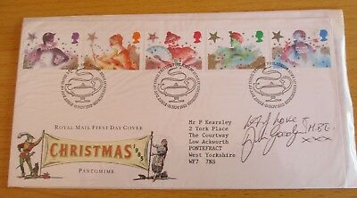 """FDC (First Day Cover) Signed Julie Goodyear, """"Coronation Street"""""""