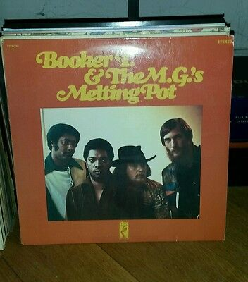 Booker T. And the M.G.s Melting Pot YELLOW STAX Stax Vinyl LP