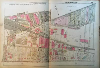1926 Rochester Ny East Avenue Gleason Works George Eastman Museum Atlas Map