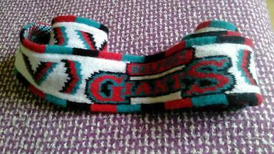 Belfast Giants Ice Hockey Small vintage knitted scarf Great for Game Night!!