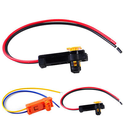 2PCS Plugs Adapter Replacement Wires Airbag Connector Car Clockspring For Honda