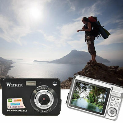 "2.7"" Mini Digital Camera 18 MP CMOS LCD Screen HD 720P Flash Camcorder Photo"