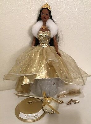 Celebration Barbie Special Edition 2000 Holiday Barbie Doll african american