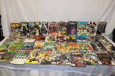 Lot of 52 , DC Comics, Justice League, Marvel, Image, Comic Books. Pre-Owned.