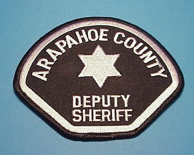 Arapahoe County  Colorado  Sheriff /  Police Dept. Patch  Free Shipping!!!