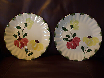 Blue Ridge Southern Potteries Dinner Plates Lot of 2