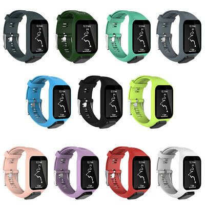 Silicone Replacement Wrist Band Strap For Tom Runner 2 3 Spark 3 GPS Watch