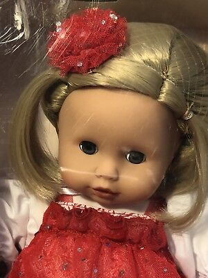 Gotz Puppenmanufaktur German Muffin Baby Doll Sparkle And Lace New Damaged Box