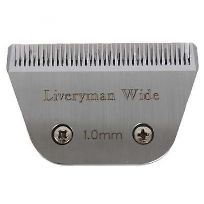 Liveryman Fine Wide Clipper Blades (suitable for Liveryman Harmony)