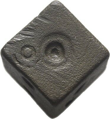 Lanz Islam Early Islamic Bronze Coin Commercial Weight Cube  Uqiyyah ±Bec247