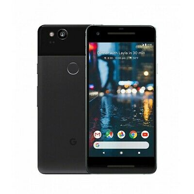 Google Pixel 2 G011A 64GB Just Black Android Smartphone - sehr gut - OVP