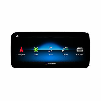 """Mercedes Benz CLS W218 NTG4x 10,25"""" Android 8.1 Touchcreen GPS Navigation USB SD"""