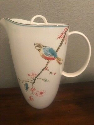 Lenox Simply Fine Chirp Covered Water Pitcher
