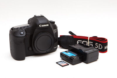 Canon EOS 5D Mark III 22.3 MP Digital SLR + 64GB SDXC * Low Shutter * USA Model