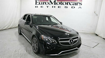 2015 Mercedes-Benz E-Class 4dr Sedan E 63 AMG S-Model 4MATIC mercedes benz e 63 e63 amg s e63s 4matic 14 15 16 used certified awd black navi