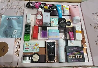 Adventskalender Luxus Proben Glossybox 2018 Beauty Cartier Shiseido Glamglow
